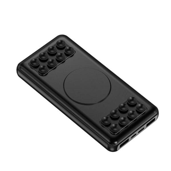 DF-10000WPB36 Oem Logo Portable Wireless Suction Cup Powerbank 10000mah Dual Usb Power Bank Power Banks for Xiaomi