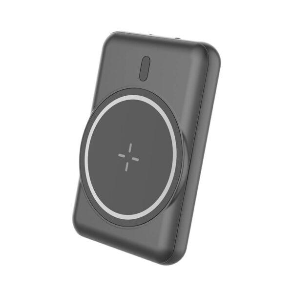 DF-5000PB33C New Model Universal Tiny Mini Portable Wireless Magnetic Power Bank Micro 5000 mAh Magnet Powerbank